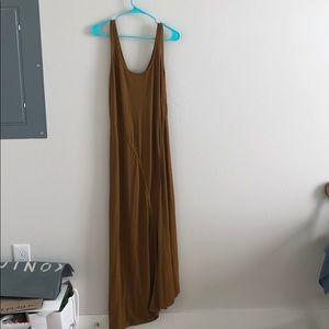 Long Brown Zara Dress